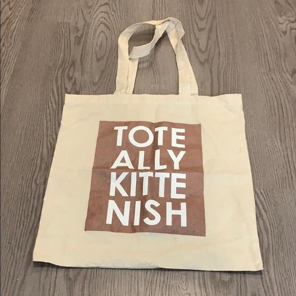 Kittenish Tote